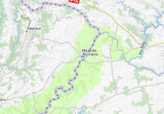 Mapa Plano Miranda do Douro