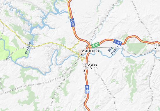 Zamora Map