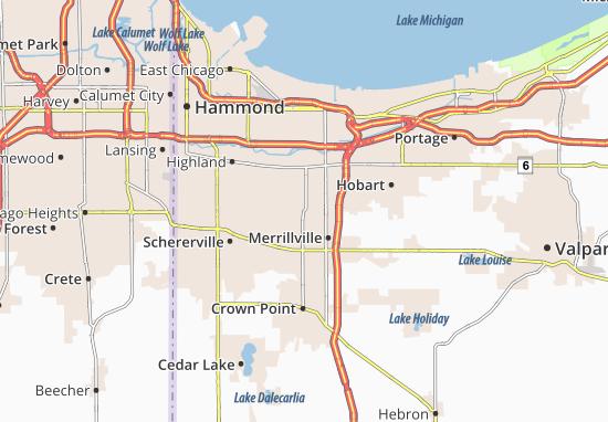 Mappe-Piantine Merrillville