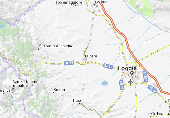 Lucera Map