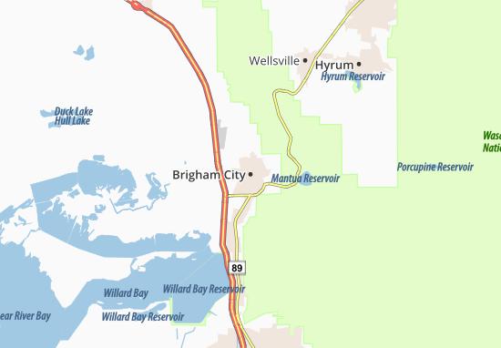 Mappe-Piantine Brigham City