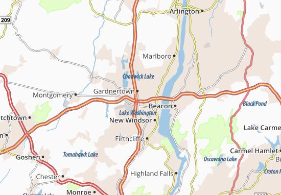 Gardnertown Map