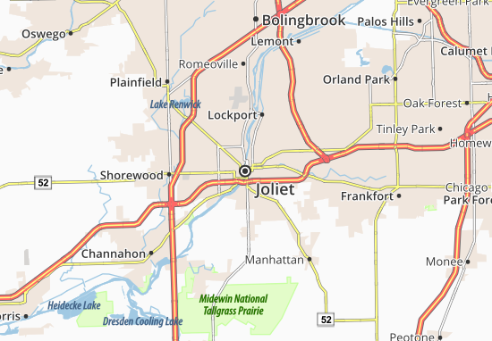 Carte-Plan Joliet