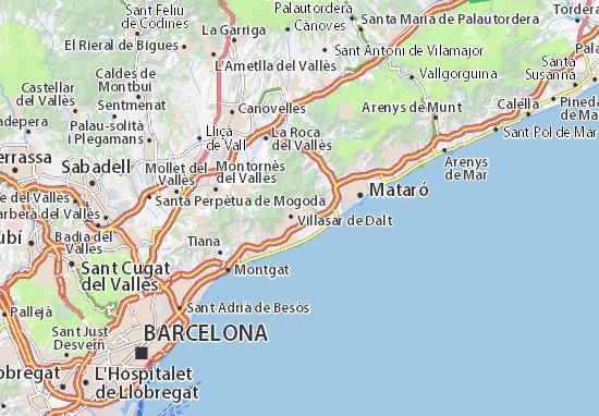 Mapa Plano Cabrils
