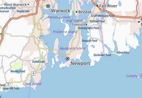 Carte-Plan Newport East