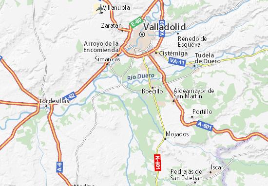 Mapas-Planos Viana de Cega