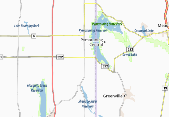 Kaart Plattegrond Williamsfield