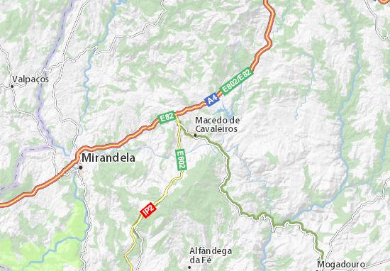 Macedo de Cavaleiros Map