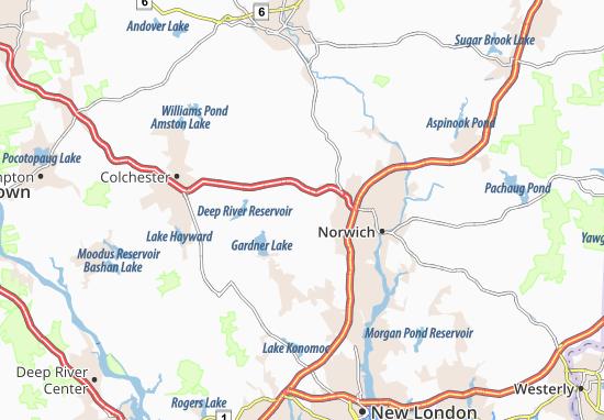 Bozrah Map