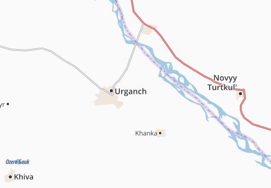 Carte-Plan Yangi-arna