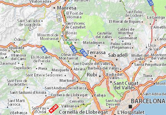 Mapas-Planos Viladecavalls