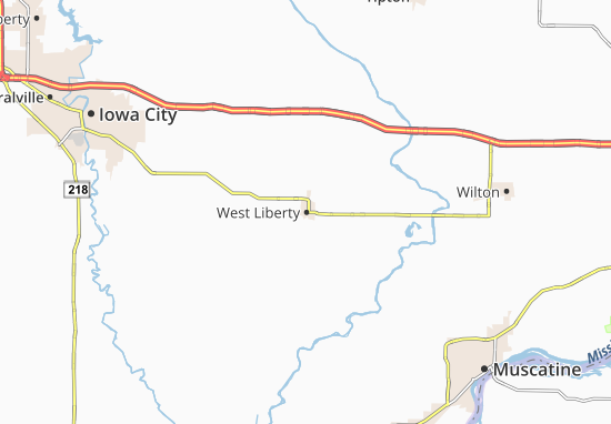 West Liberty Map