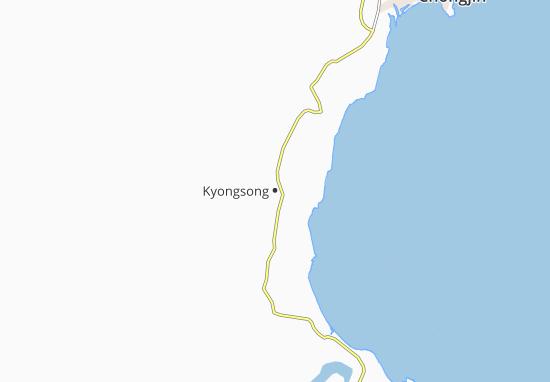 Kyongsong Map