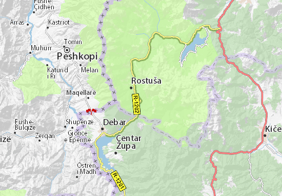 Janče Map