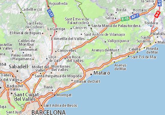 Dosrius Map