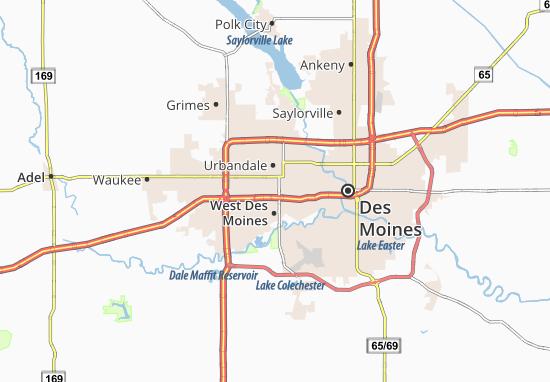Windsor Heights Map
