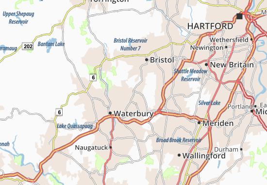 Wolcott Map