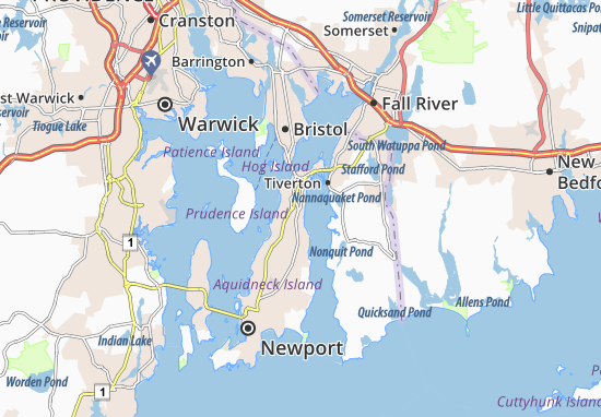 Carte-Plan Portsmouth