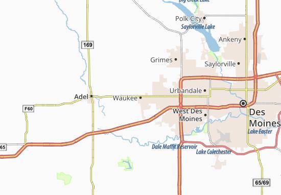 Waukee Map