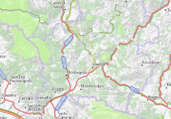 Isernia Italy Map.Castelromano Map Detailed Maps For The City Of Castelromano