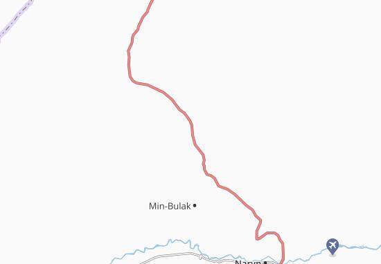 Mapa Plano Kazan-Kuygan