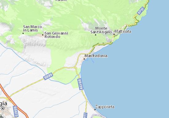 Mappe-Piantine Manfredonia