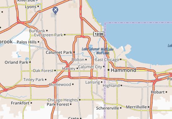 Dolton Map