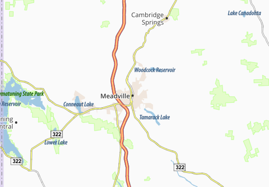 Carte-Plan Meadville