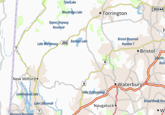 Bethlehem Village Map