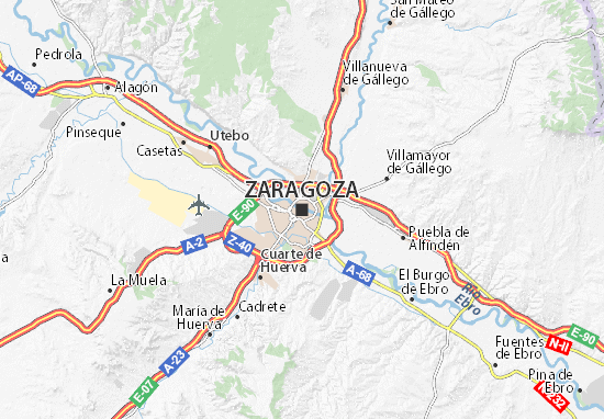 Mapas-Planos Zaragoza