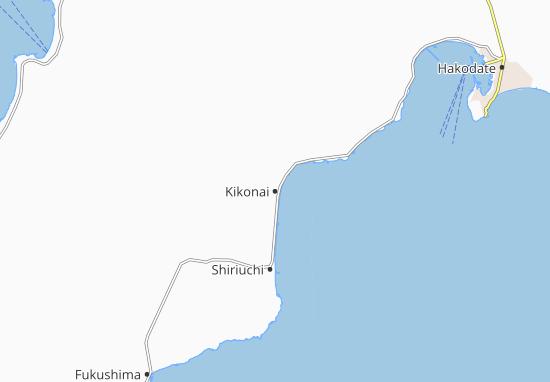 Kikonai Map