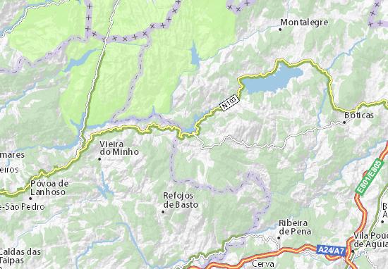 Kaart Plattegrond Venda Nova