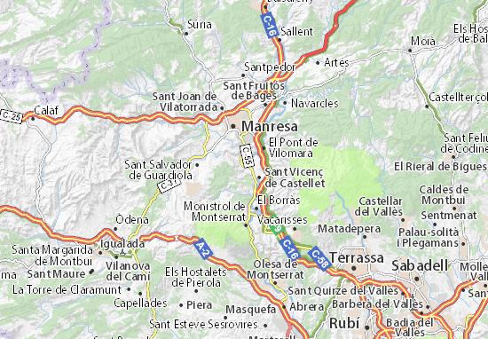 Carte-Plan Castellgalí