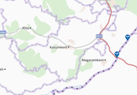 Mappe-Piantine Kasumkent