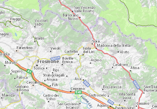 Carte-Plan Castelliri
