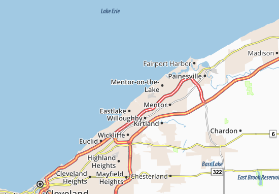 Eastlake Map