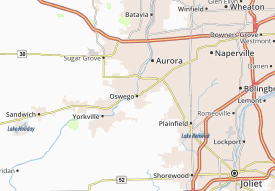 Mappe-Piantine Oswego