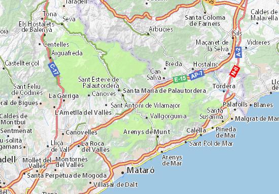 Mapas-Planos Sant Celoni