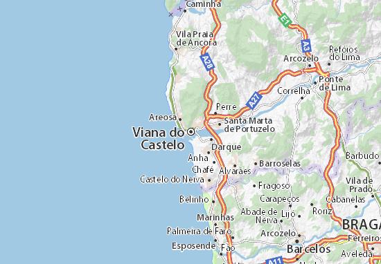 Mapas-Planos Viana do Castelo