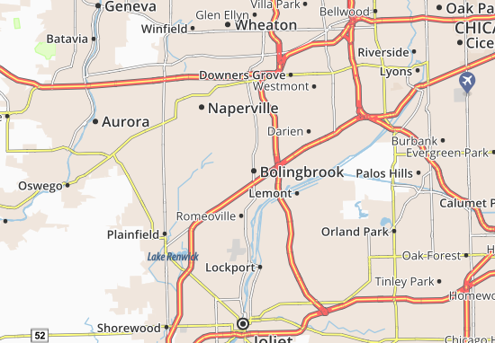 Bolingbrook Map