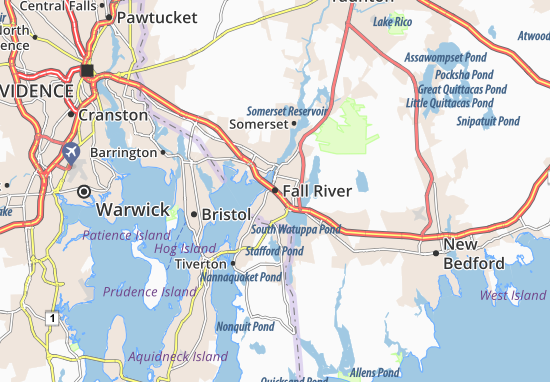 Fall River Map