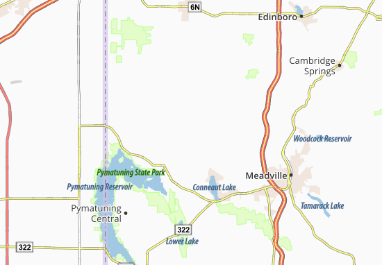 Dicksonburg Map