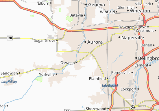 Boulder Hill Map