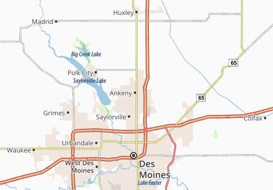 Ankeny Map