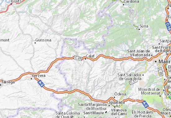 Mapa Plano Calaf