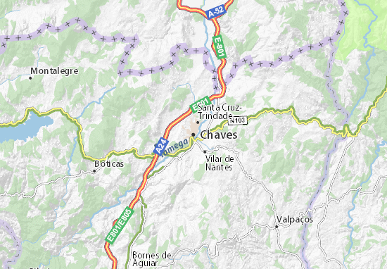 Mapa Plano Chaves
