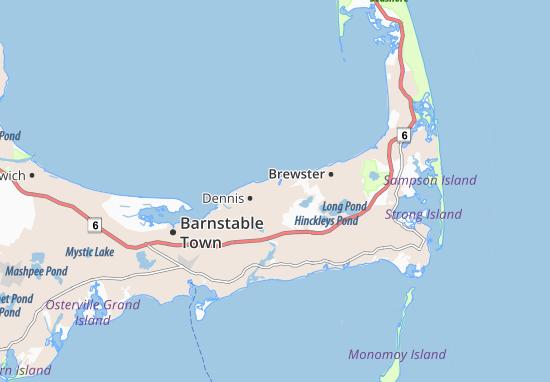 Mappe-Piantine East Dennis