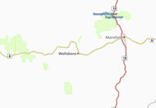 Carte-Plan Wellsboro