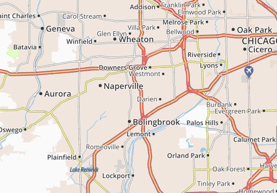 Woodridge Map