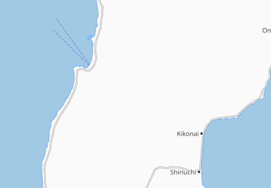 Yunotai Map